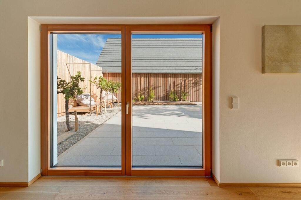Holz-Alu-Fenster - Referenzobjekt Fenstertechnik Amberger / Höhbauer